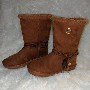 Michael Kors Pamina Honey Girls Boots